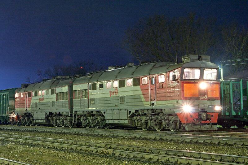 2ТЭ116-1220 на станции Новосокольники