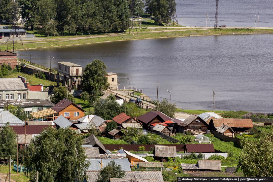 Плотина на реке Серга