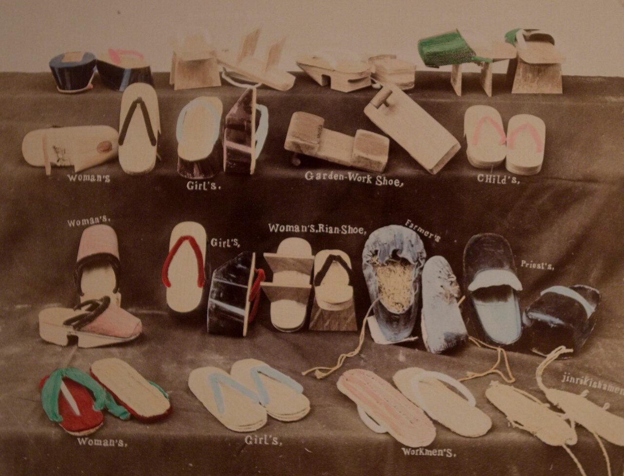 Японская обувь
