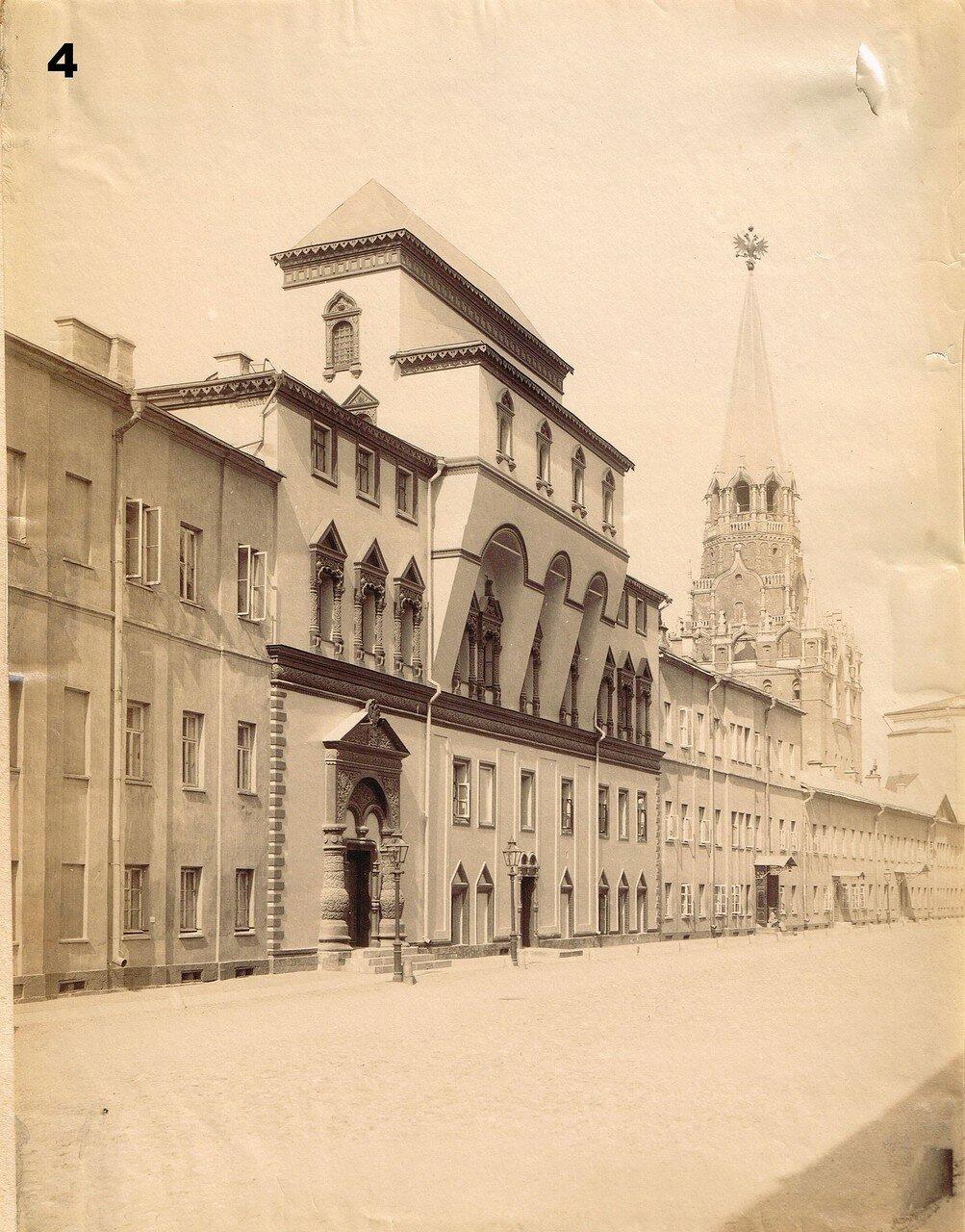 654. Потешный дворец и Троицкая башня.1870-1880