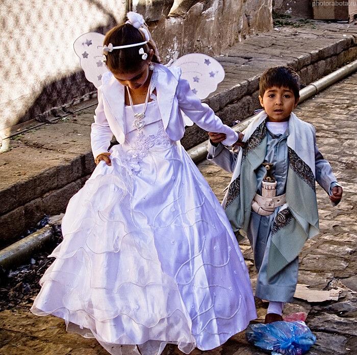 Дети Йемена