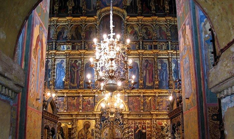 Ярославль, иконостас церкви Ильи Пророка