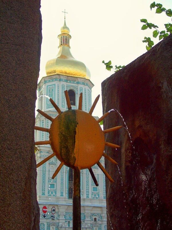 Фонтан на Софиевской площади