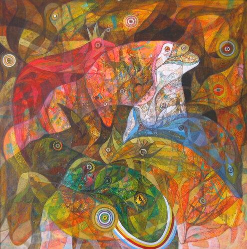 Марина Донская, картина Ковчег