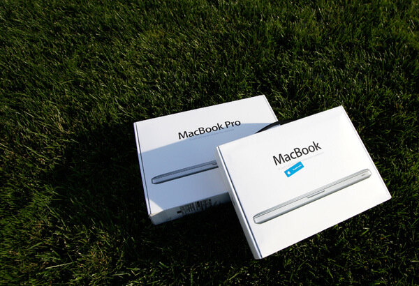 Фото новых MacBook 2008