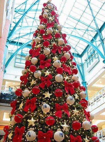 деи  украшения  новогодней  елки.  Фото  Домохозяйка