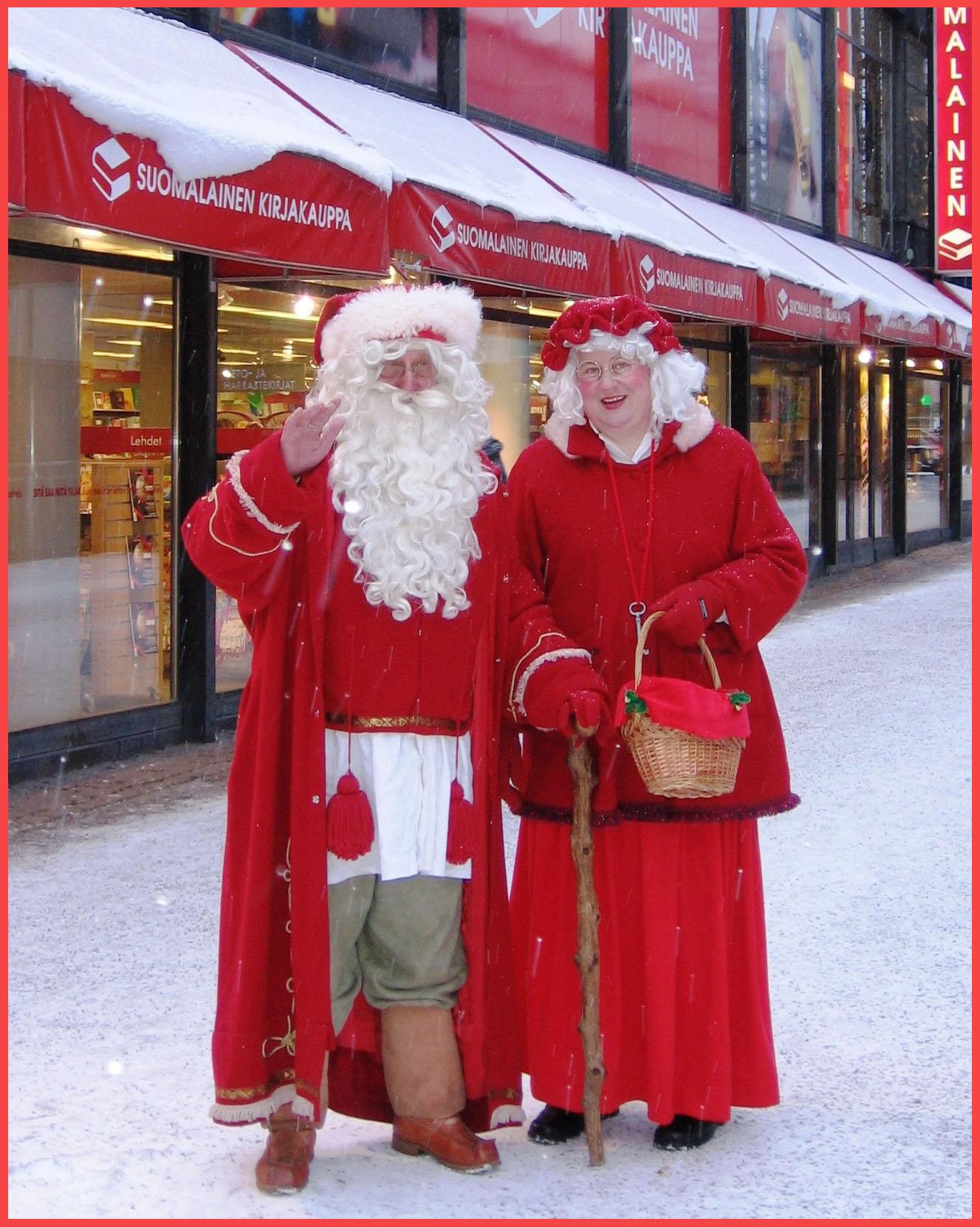 Дедушка Мороз и Бабушка Мороз...
