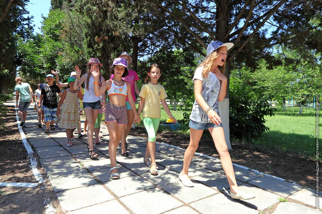 детский оздоровительный лагерь Радость дети на отдыхе в Крыму