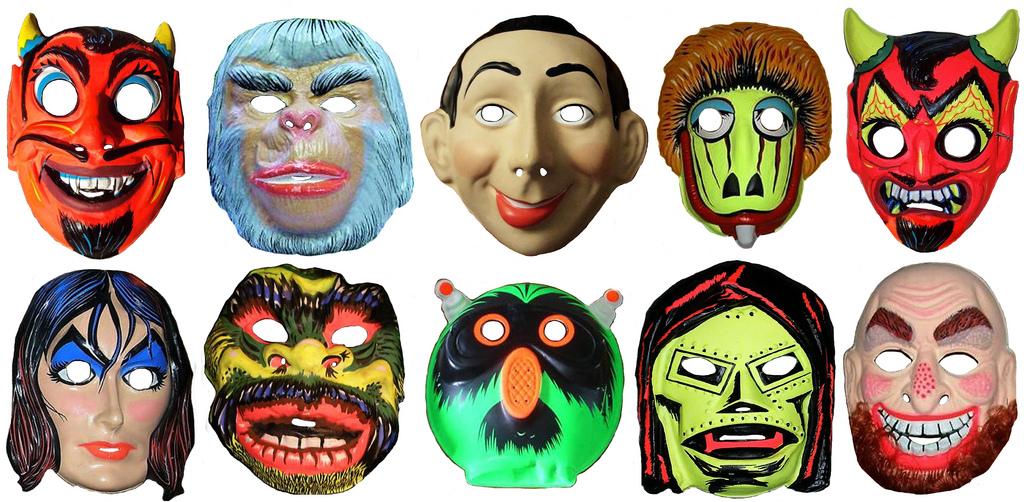 A Vintage Halloween Mask Motherload.jpg