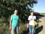 Ленинградская область. Уборка на озере Сюверярви 14 09 2013