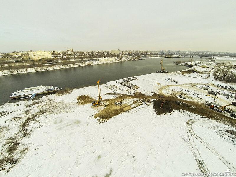 Строительство Фрунзенского моста