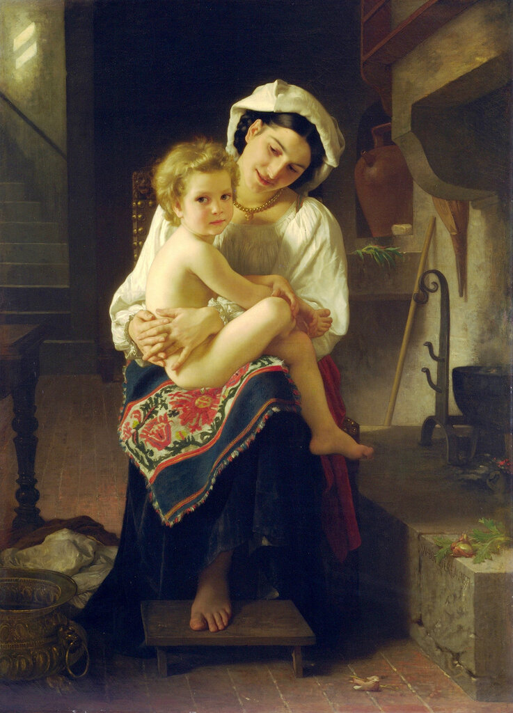 William-Adolphe_Bouguereau_(1825-1905)_-_Young_Mother_Gazing_At_Her_Child_(1871).jpg