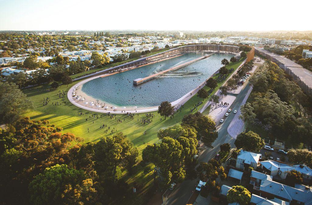 1. Амбициозный архитектурный концепт фирмы MJA Studio В австралийском городе Субиако (Subiaco) наход