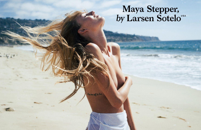 Немецкая модель Майя Степпер для P Magazine (15 фото)
