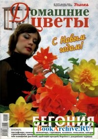Журнал Домашние цветы №12(27), декабрь 2009 г
