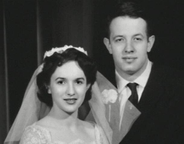 Джон Нэш и его супруга Алисия