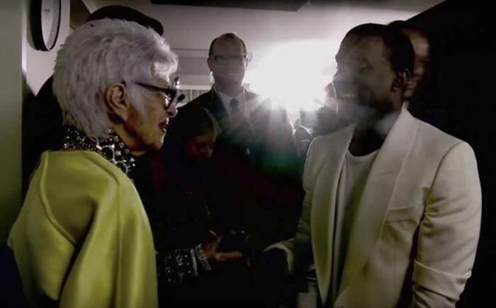94 летняя старушка чудачка, которая работает моделью