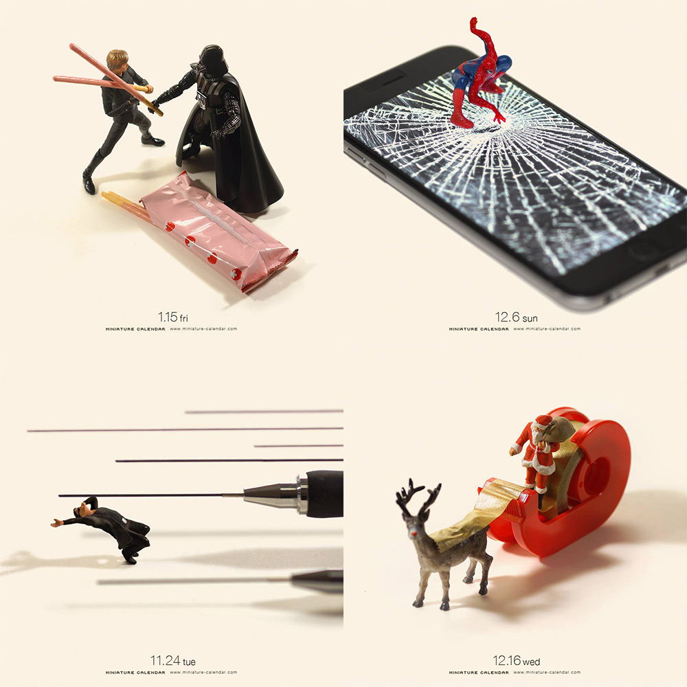 New Highlights from Artist Tatsuya Tanaka's Daily Miniature Photo Project