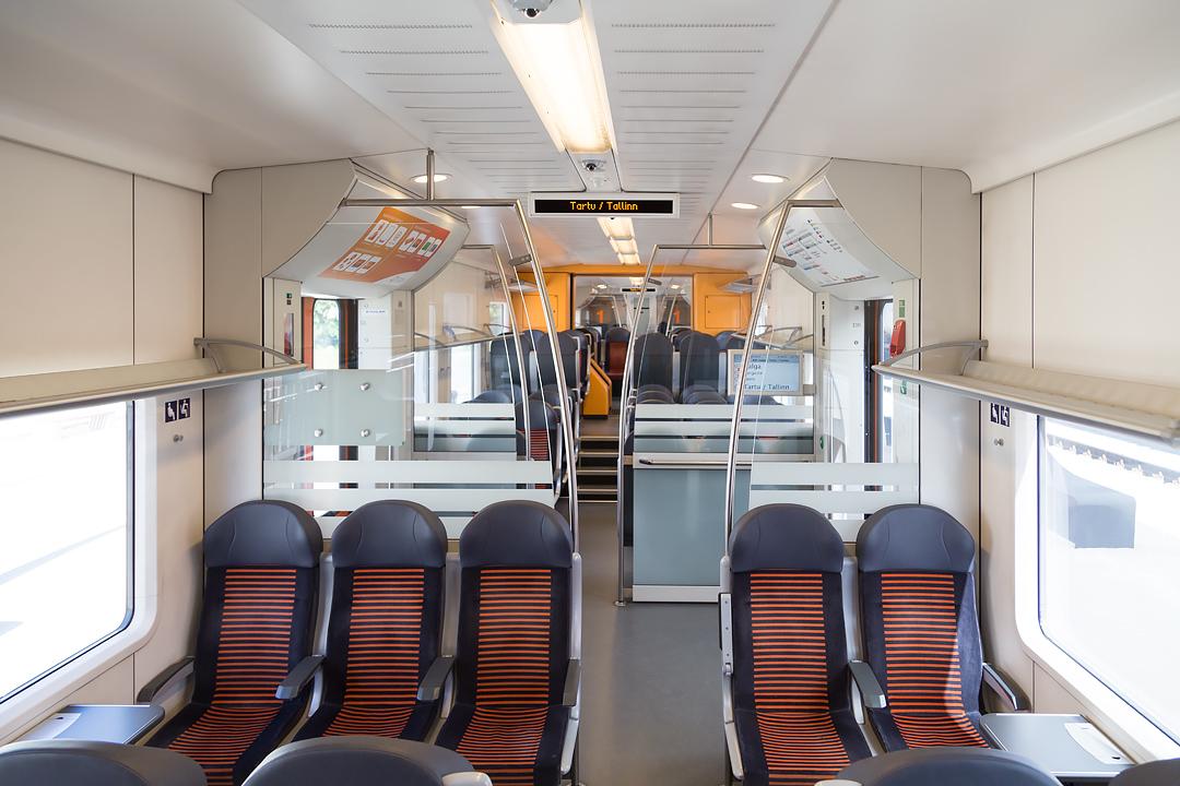 Эстонский дизель-поезд Stadler