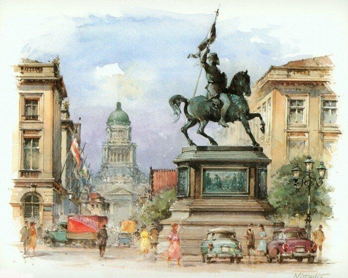 Города Европы Детлев Ницшке