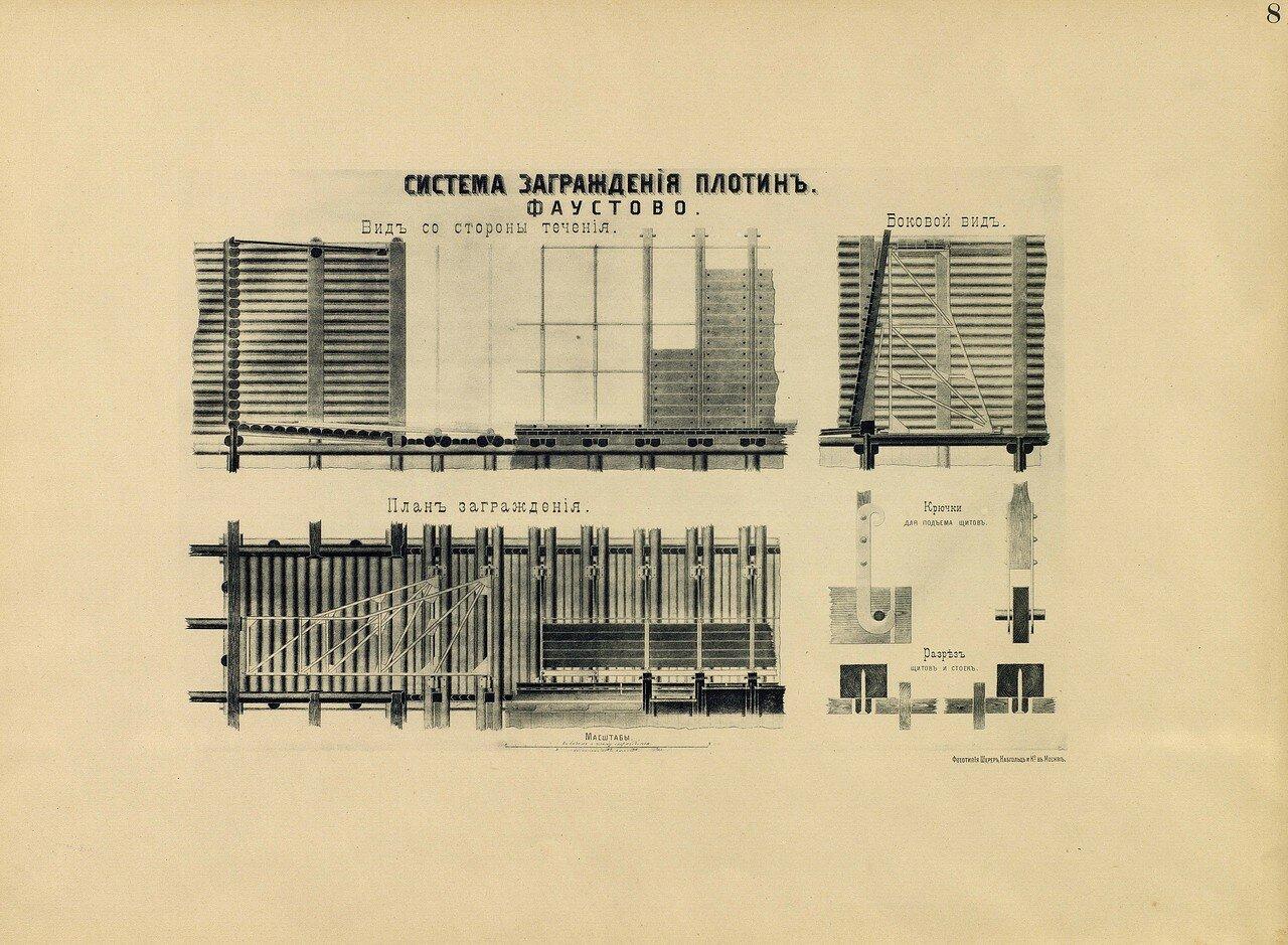 10. Система заграждения плотин. Фаустово