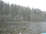 Сплав по р. Инзер под снегом