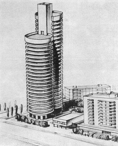 Проекты многоэтажных жилых домов