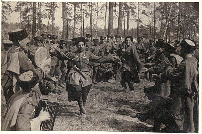 Терские казаки. Фотографии Б.Вдовенко. 1936 г.