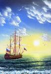 Корабль.8 2003г
