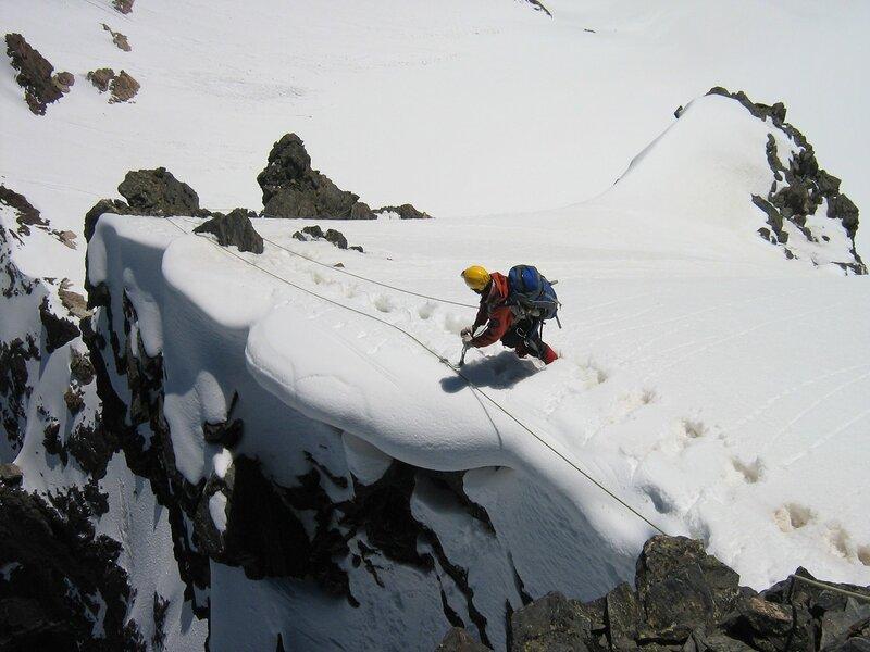 Восхождение на Малую Белалакаю - 3А к.т. Домбай. Июнь 2008