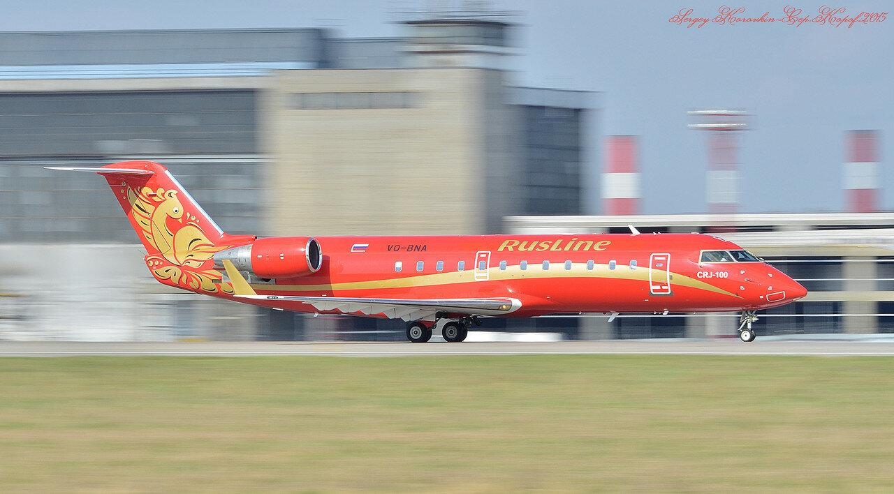 VQ-BNA Canadair CRJ-100 Rusline