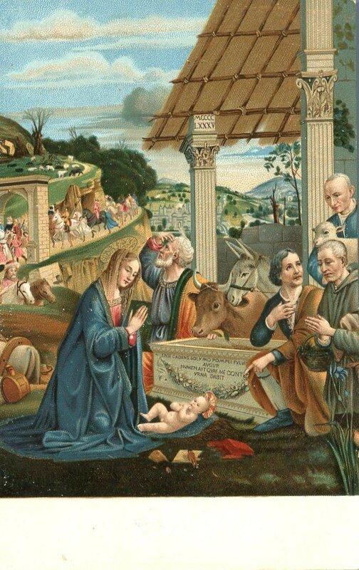 Рождество. Святое семейство.