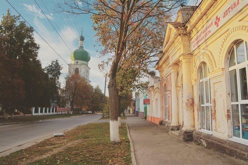 Севск, Брянская область... по городу.