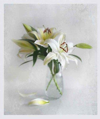 Белые лилии