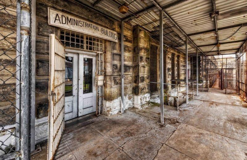 Аттракцион для туристов с крепкими нервами – тюрьма строгого режима в Западной Виргинии