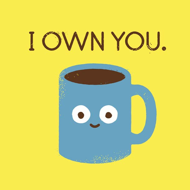 Ты принадлежишь мне.