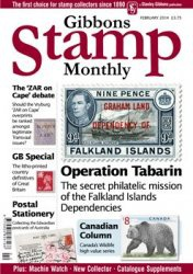 Журнал Gibbons Stamp Monthly №2 2014