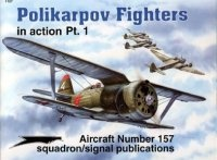 Книга Aircraft Number 157: Polikarpov Fighters in Action Pt. 1.