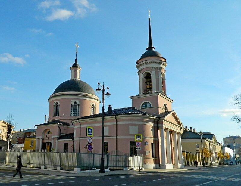 Храм Иверской иконы Божией Матери на Всполье г. Москва!