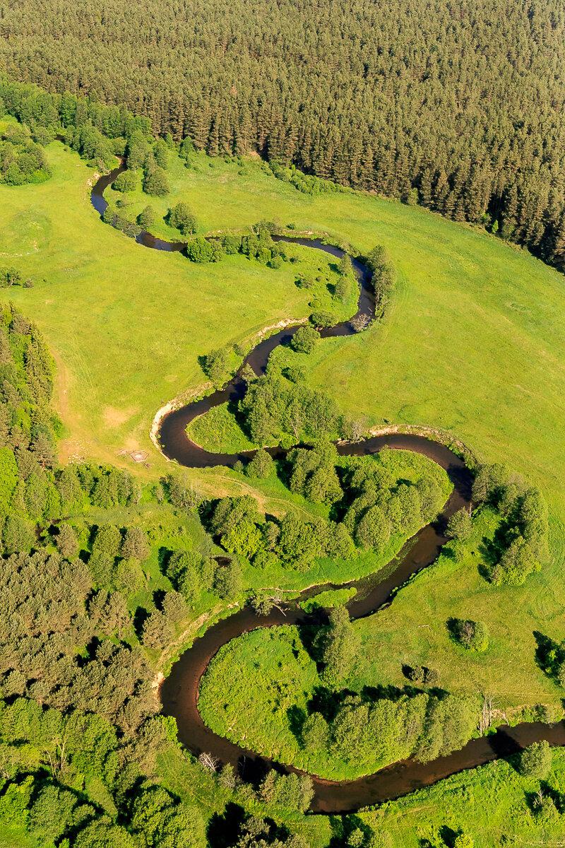 Беларусь с вертолёта - Лидский замок