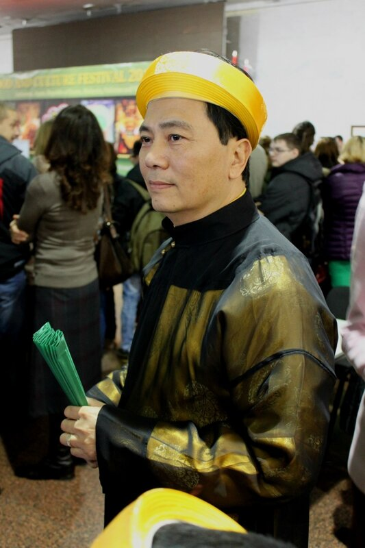 Участник Фестиваля кухни и культуры Азии