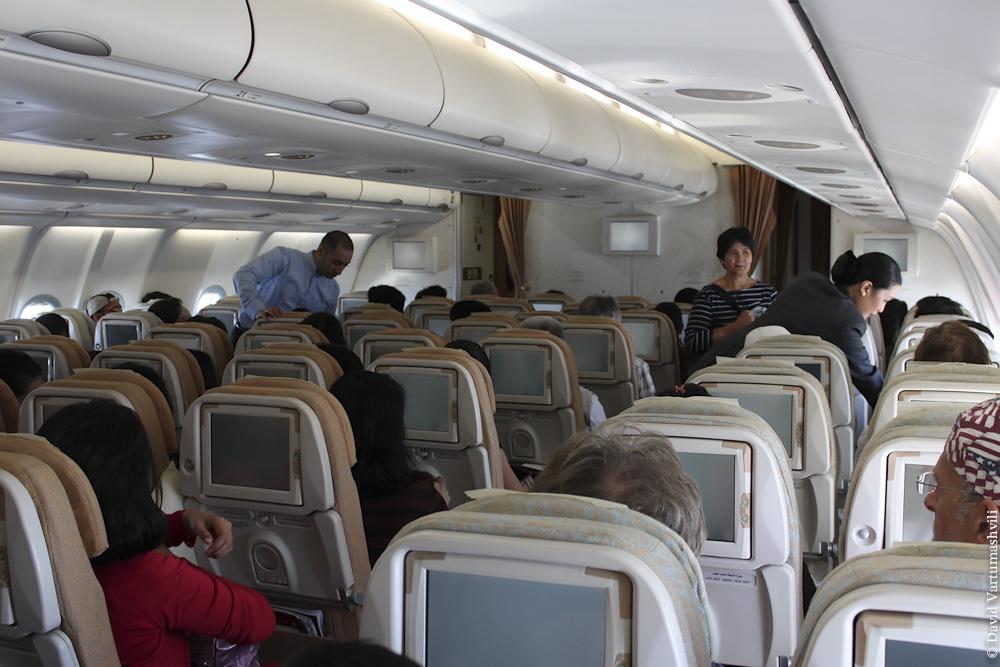 Перелет из Москвы в Абу-Даби.