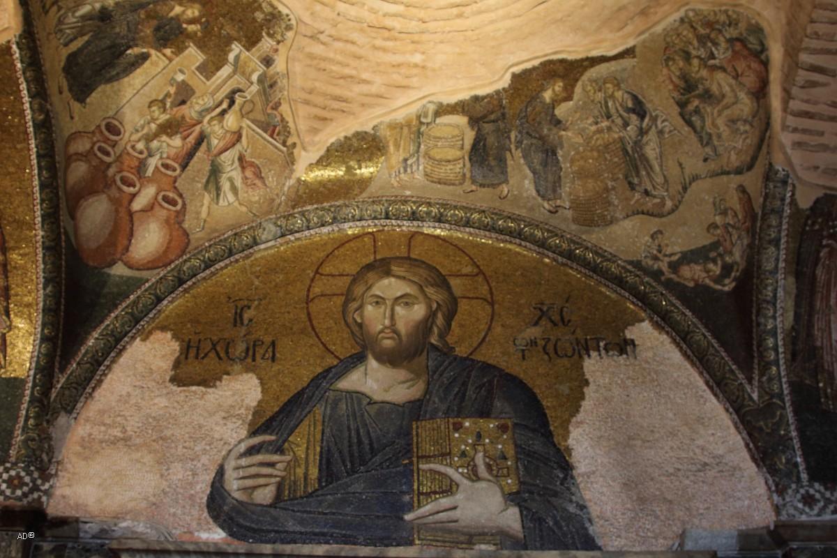 Спаситель Хора тон Зонтос. Иисус Пантократор