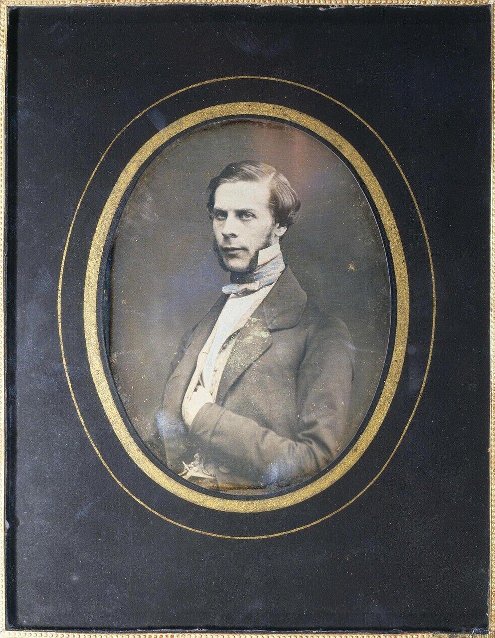 Портрет молодого человека. 1840-е