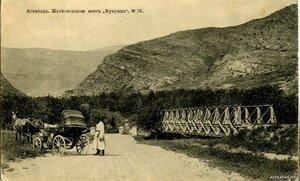 Окрестности Асхабада. Железнодорожный мост Кукушки