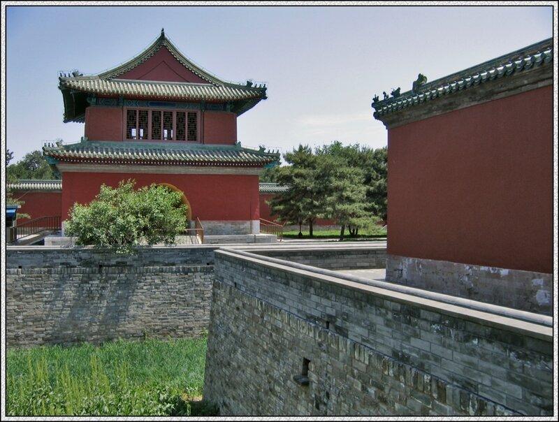 Дворец Воздержания в Храме Неба, Пекин