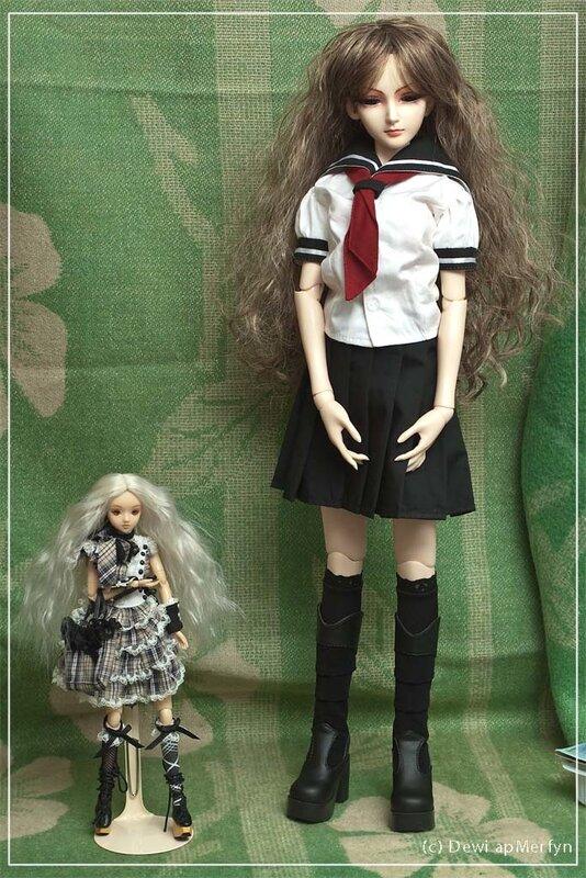 Сравнение J-Doll и 1/3 BJD