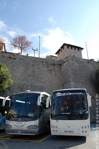 Автобусы в Сан-Марино