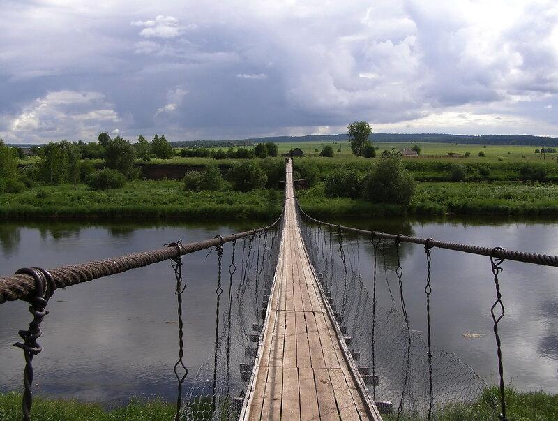 деревня посад пермский край фото