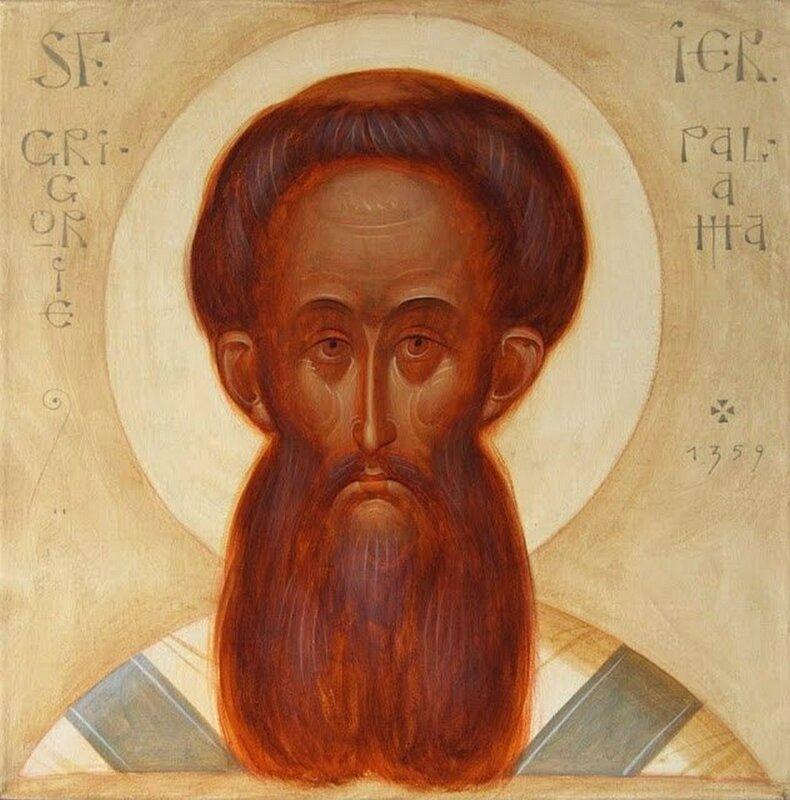 Святитель Григорий Палама, Архиепископ Солунский. Иконописец Toma Chutic из Бухареста, Румыния.